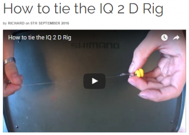 How to tie the IQ 2 D Rig